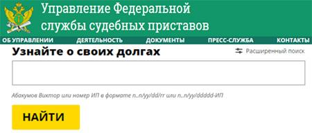 Проверка долгов в Новосибирском районе